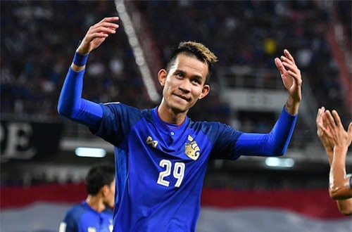 Tiền vệ: Sanrawat Dechmitr (Thái Lan).