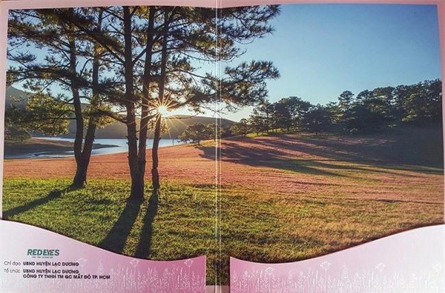 """Một trong những bức ảnh, các nhiếp ảnh gia """"tố"""" Ban tổ chức Mùa hội cỏ hồng 2018 """"xài chùa"""" (Ảnh: FBNV)"""