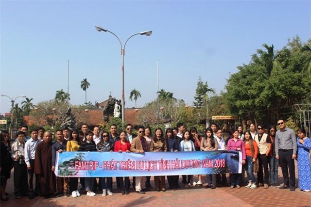 chương trình khảo sát kết nối tuyến du lịch di tích, làng nghề huyện Cẩm Giàng và Đảo Cò Chi Lăng huyện Thanh Miện , tỉnh Hải Dương