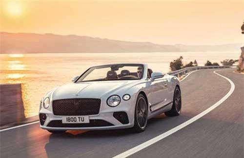 Bentley ra mắt siêu xe Continental GT Convertible 2019