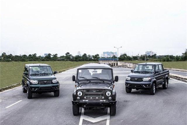 Cơ hội cho xe Nga giá vào Việt Nam trở nên gập ghềnh