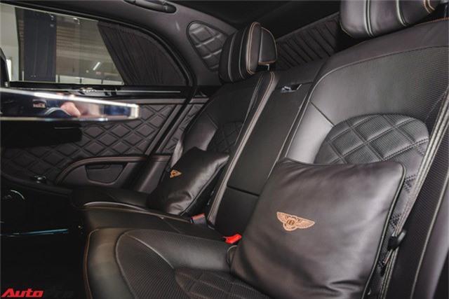 Chạm mặt Bentley Mulsanne bản hiếm, màu độc của đại gia Hà thành - Ảnh 12.