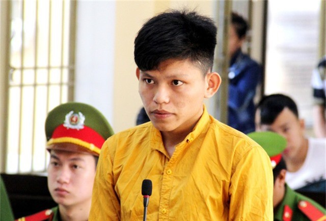 Bị cáo Hồ Văn Tâm tại tòa ngày 28/11