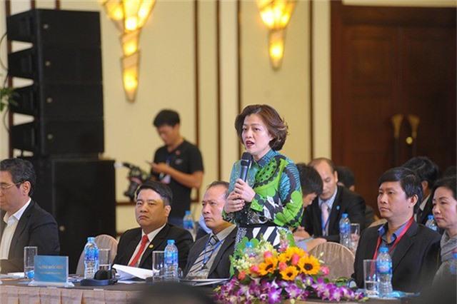 Bà Trương Lý Hoàng Phi, thành viên sáng lập Trung tâm Hỗ trợ thanh niên khởi nghiệp TPHCM (BSSC)