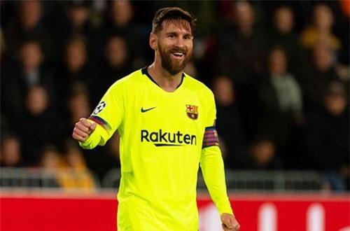 Tiền đạo: Lionel Messi (Barcelona).