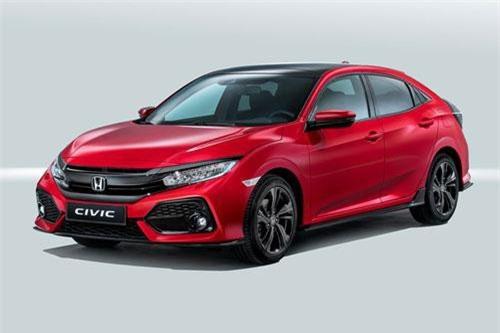 3. Honda (doanh số: 10.449 chiếc).