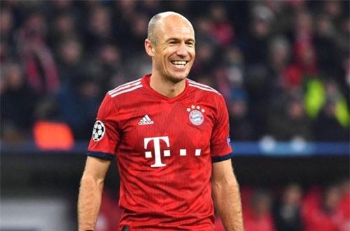 Tiền vệ phải: Arjen Robben (Bayern Munich).