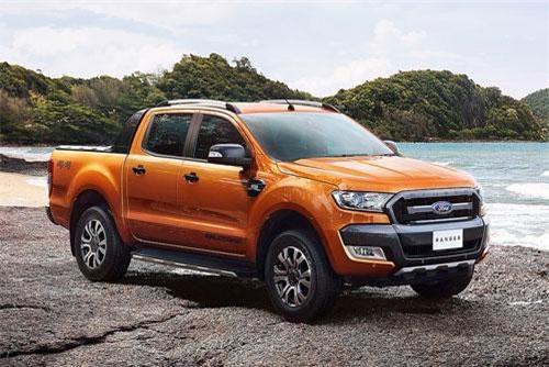7. Ford (doanh số: 4.001 chiếc).