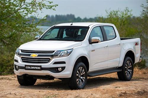 9. Chevrolet (doanh số: 1.368 chiếc).