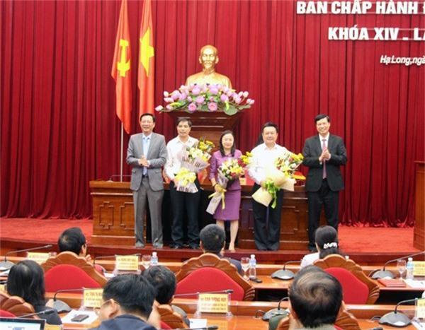 Hội nghị cũng bầu bổ sung 3 Uỷ viên thường vụ Tỉnh úy (ảnh QTV)
