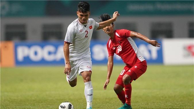 Olympic Việt Nam Olympic Nepal Bảng D ASIAD 2018