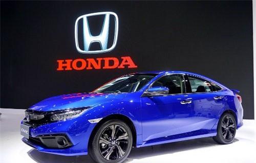 2019 Honda Civic ra mắt tại Thái Lan.