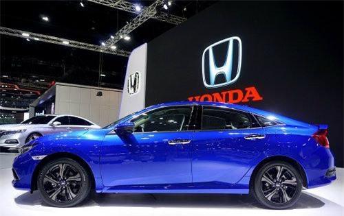 2019 Honda Civic tại Motor Expo 2018 đang diễn ra tại Thái Lan.