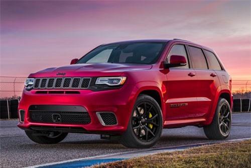 8. Jeep Grand Cherokee Trackhawk 2019.