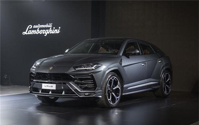 Lamborghini Urus ra mat tai Thai Lan, re hon Viet Nam 10 ty