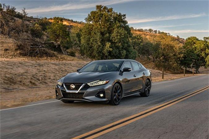 "Sedan Nissan Maxima 2019 moi co gi de ""dau"" Toyota Avalon?-Hinh-3"