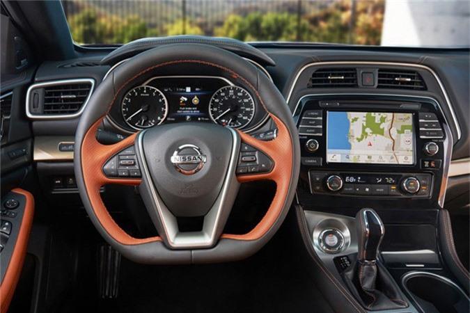 "Sedan Nissan Maxima 2019 moi co gi de ""dau"" Toyota Avalon?-Hinh-7"
