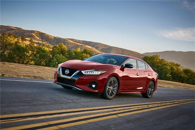 "Sedan Nissan Maxima 2019 moi co gi de ""dau"" Toyota Avalon?-Hinh-8"