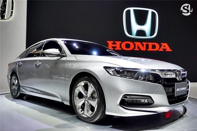 2019 Honda Accord tại Motor Expo 2018 ở Thái Lan.