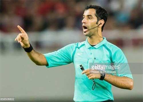 Trọng tài FIFA Abdulrahman Ibrahim Al-Jassim.