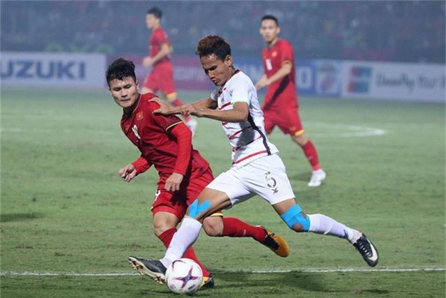 Đội tuyển Việt Nam sẽ tiếp tục giữ mạch bất bại tại AFF Cup 2018? (ảnh: Gia Hưng)