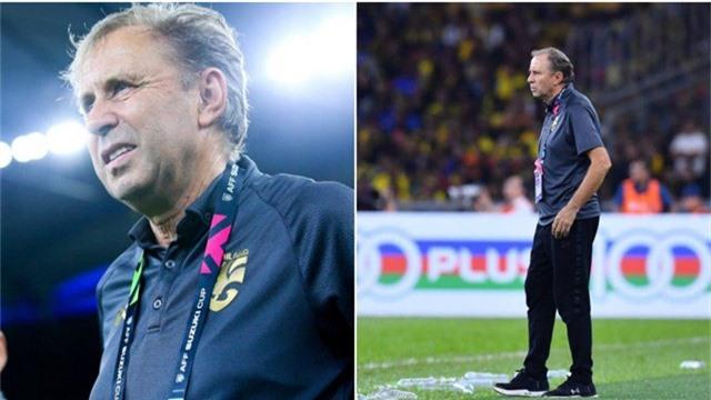 HLV Milovan Rajevac thừa nhận Thái Lan thi đấu dưới sức ở trận gặp Malaysia
