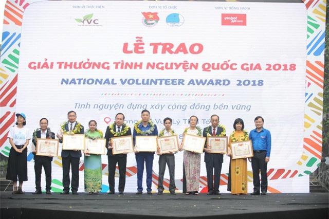 Lễ trao giải thưởng Tình nguyện Quốc gia 2018