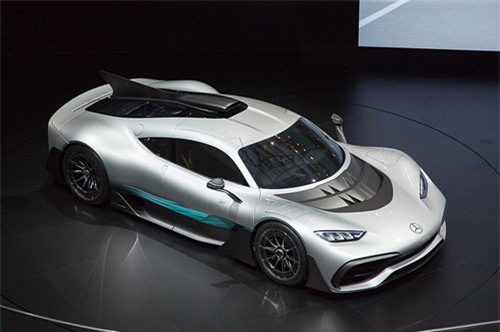 3. Mercedes-AMG Project One.