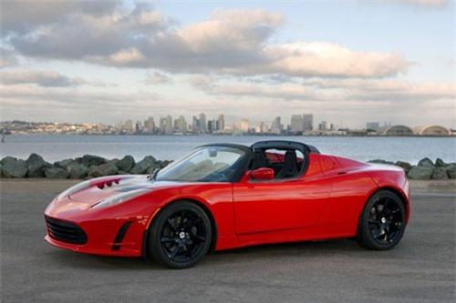 4. Tesla Roadster.