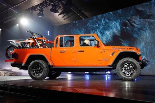 5. Jeep Gladiator 2020.