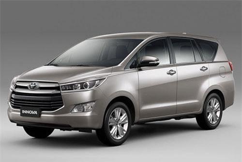 5. Toyota Innova (doanh số: 8.228 chiếc).