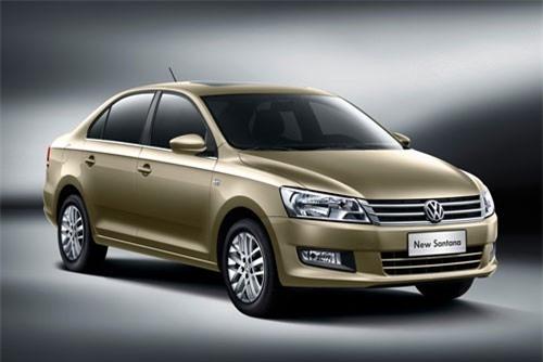 5. Volkswagen Santana (doanh số: 30.637
