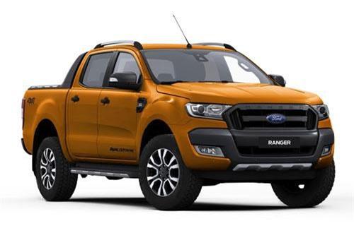 8. Ford Ranger (doanh số: 7.196 chiếc).