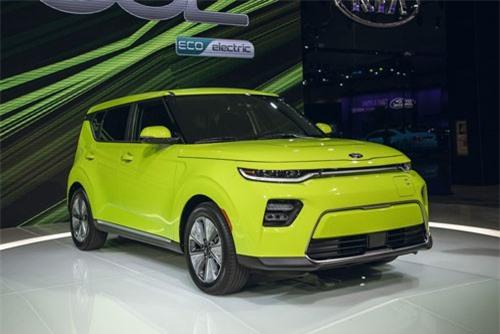 9. Kia Soul EV 2020.