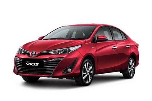 9. Toyota Vios (doanh số: 7.154 chiếc).