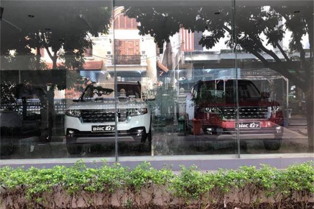 BAIC Q7 - SUV Trung Quốc thiết kế như Range Rover ra đại lý, giá dự kiến hơn 600 triệu đồng - Ảnh 1.