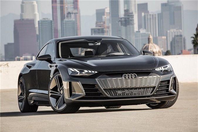 Xem trước xe điện tuyệt đẹp Audi e-tron GT bán ra vào năm 2021 ảnh 1