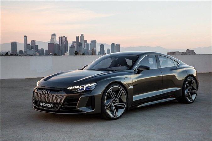 Xem trước xe điện tuyệt đẹp Audi e-tron GT bán ra vào năm 2021 ảnh 2