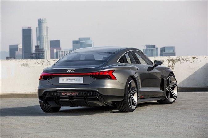 Xem trước xe điện tuyệt đẹp Audi e-tron GT bán ra vào năm 2021 ảnh 3