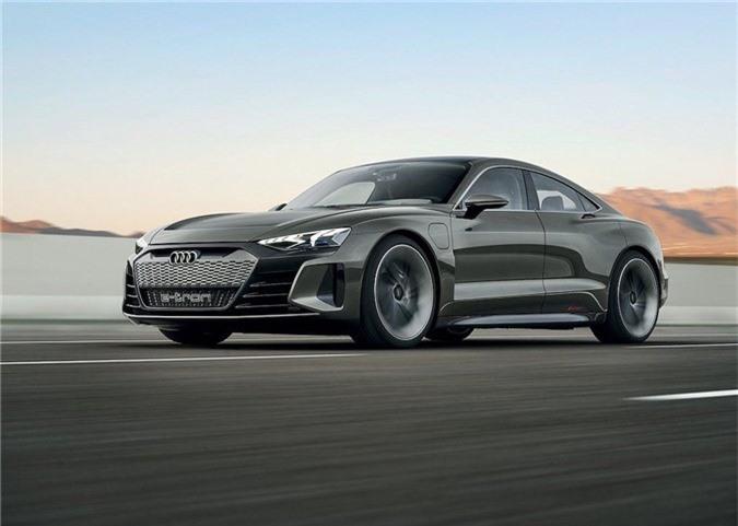 Xem trước xe điện tuyệt đẹp Audi e-tron GT bán ra vào năm 2021 ảnh 6