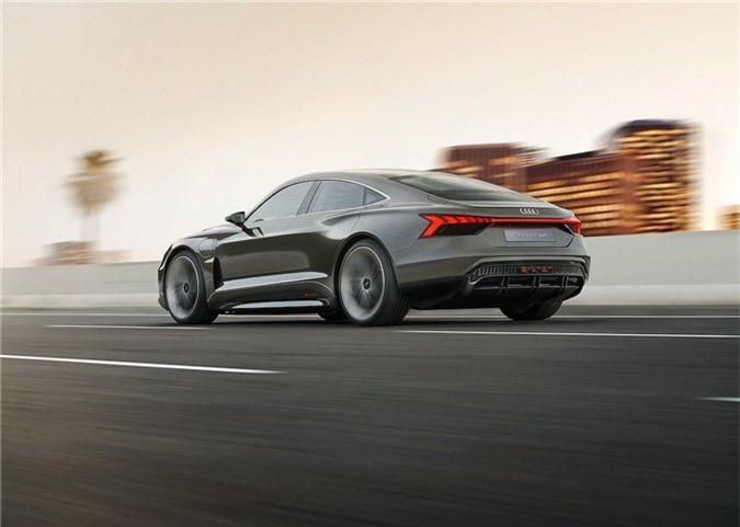 Xem trước xe điện tuyệt đẹp Audi e-tron GT bán ra vào năm 2021 ảnh 7