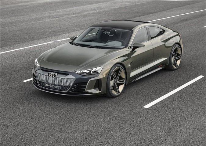 Xem trước xe điện tuyệt đẹp Audi e-tron GT bán ra vào năm 2021 ảnh 8