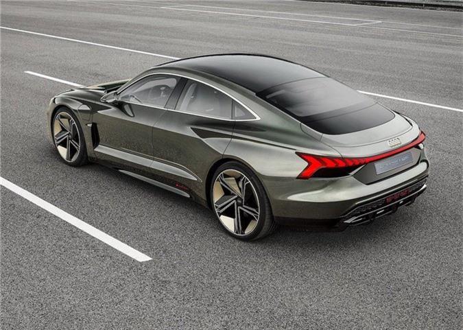 Xem trước xe điện tuyệt đẹp Audi e-tron GT bán ra vào năm 2021 ảnh 9