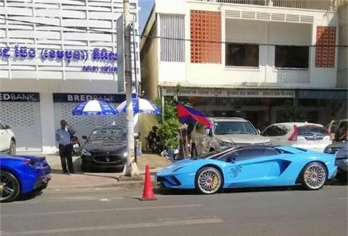 kham pha lamborghini aventador s roadster cua dai gia campuchia hinh 2