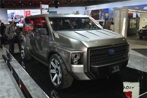 TJ Cruiser Concept mẫu xe độc đáo của Toyota tại Los Angeles Auto Show. Bên cạnh những phiên bản nâng cấp của các mẫu xe quen thuộc, Toyota đã gây chú ý tại triển lãm Los Angeles Auto Show 2018 với mẫu TJ Cruiser Concept. (CHI TIẾT)