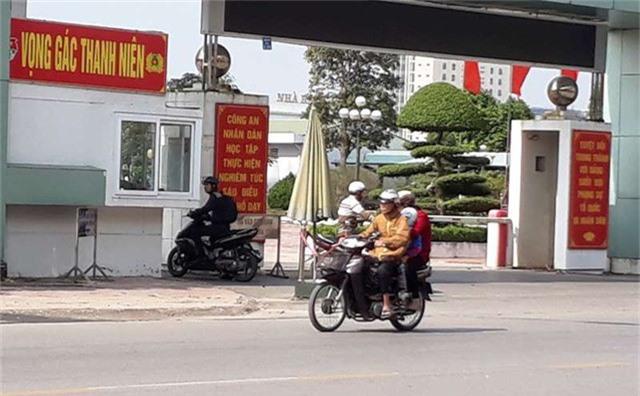Trụ sở Công an tỉnh Thái Bình - nơi xảy ra vụ việc