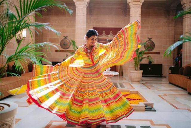 Hình ảnh đẹp của cô dâu Priyanka Chopra