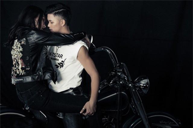 Thùy Trang Next Top Model gợi cảm trong MV mới của Trọng Hiếu - Ảnh 4.
