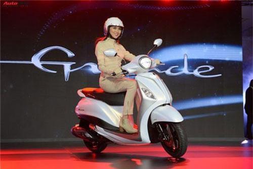 Chạy đua cùng Honda, Yamaha Việt Nam ra mắt Grande dùng động cơ hybrid. Yamaha giới thiệu Grande thế hệ mới dùng động cơ hybrid tại thị trường Việt Nam, sử dụng kết hợp động cơ xăng và bộ phát điện thông minh 12V. (CHI TIẾT)