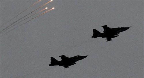 Chiếc cường kích Su-25 của mất tích chỉ sau 15 phút cất cánh